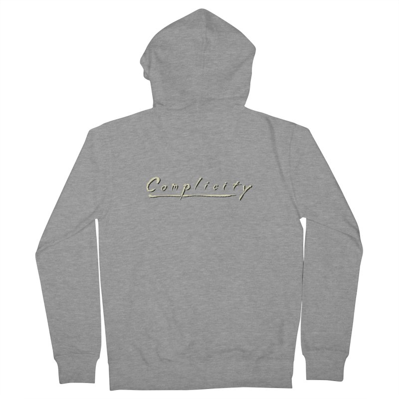 Complicity Women's French Terry Zip-Up Hoody by Wander Lane Threadless Shop