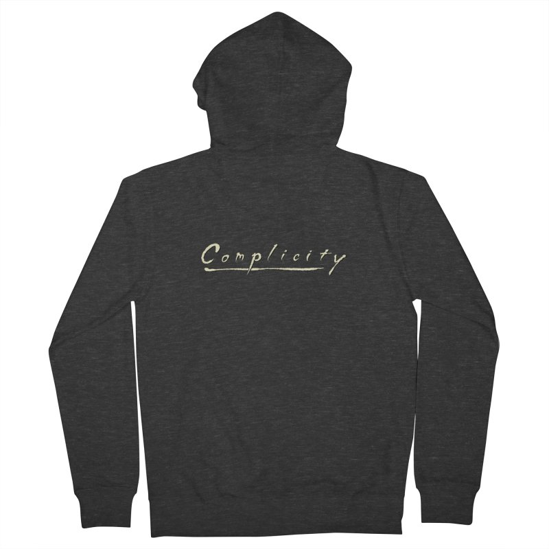 Complicity Men's French Terry Zip-Up Hoody by Wander Lane Threadless Shop