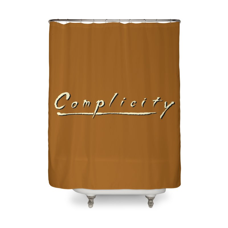 Complicity Home Shower Curtain by Wander Lane Threadless Shop