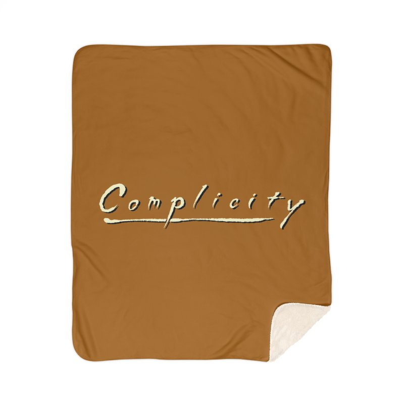 Complicity Home Sherpa Blanket Blanket by Wander Lane Threadless Shop