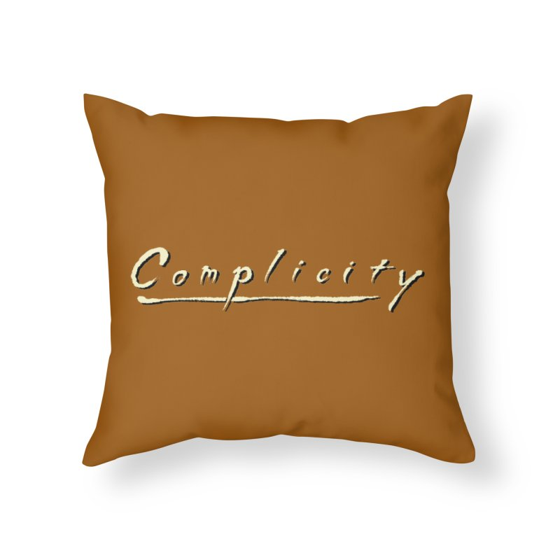 Complicity Home Throw Pillow by Wander Lane Threadless Shop