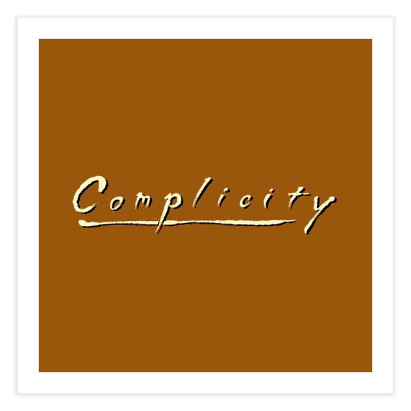 Complicity Home Fine Art Print by Wander Lane Threadless Shop