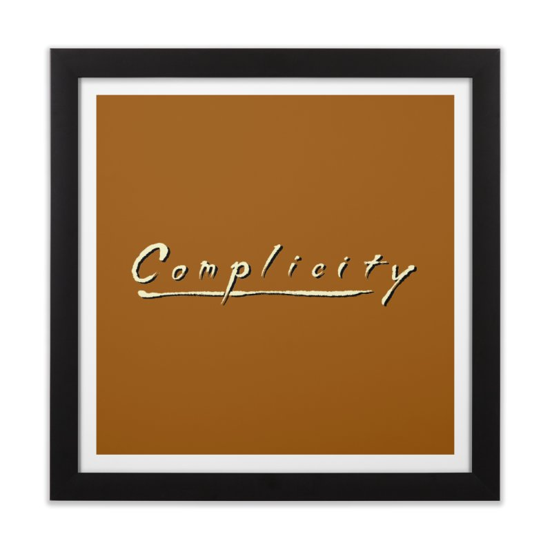Complicity Home Framed Fine Art Print by Wander Lane Threadless Shop