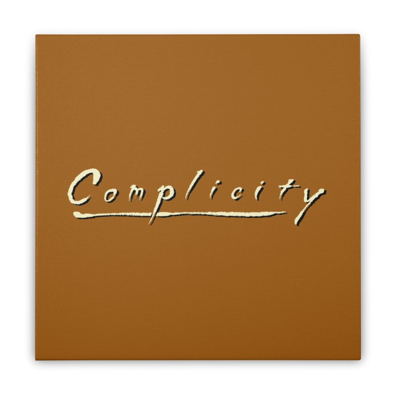 Complicity Home Stretched Canvas by Wander Lane Threadless Shop