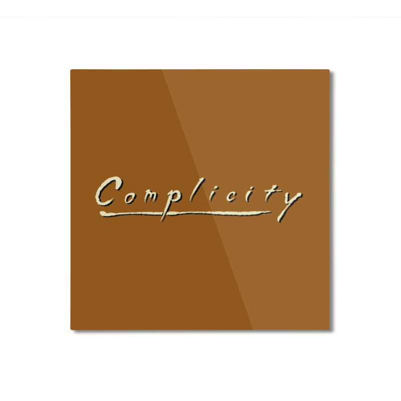 Complicity Home Mounted Aluminum Print by Wander Lane Threadless Shop