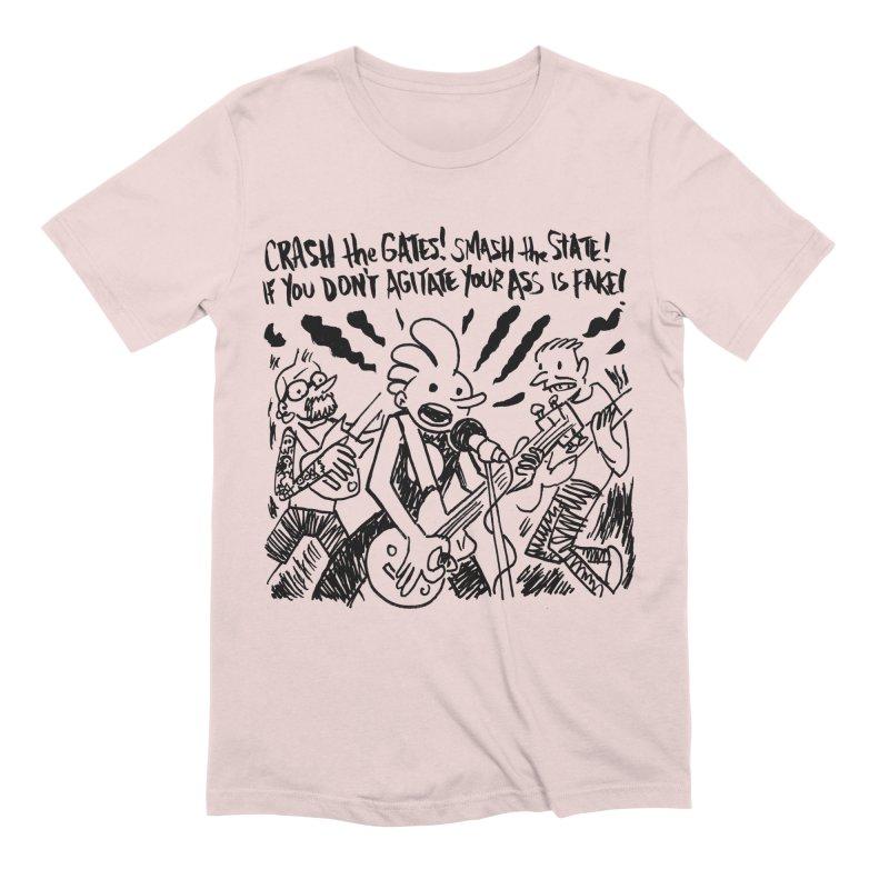 CRASH THE GATES Men's Extra Soft T-Shirt by Wander Lane Threadless Shop