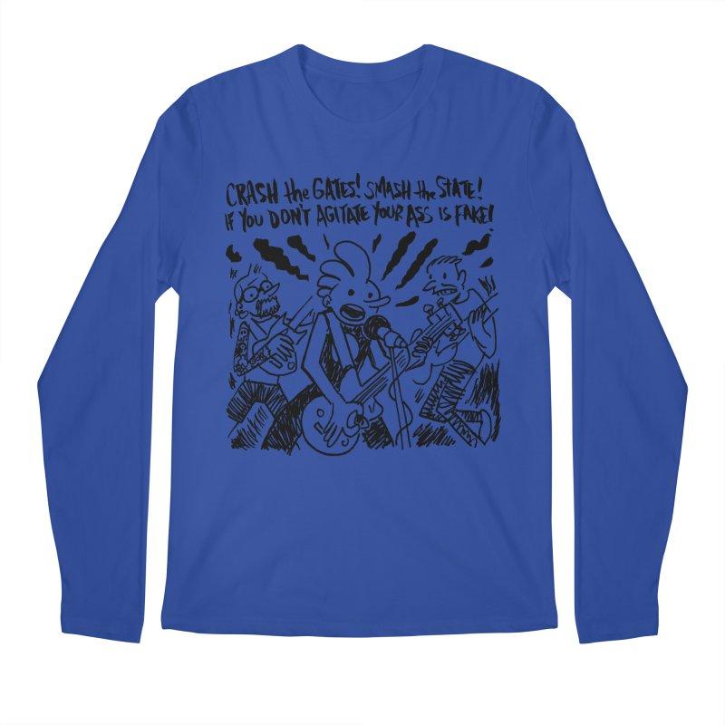 CRASH THE GATES Men's Regular Longsleeve T-Shirt by Wander Lane Threadless Shop