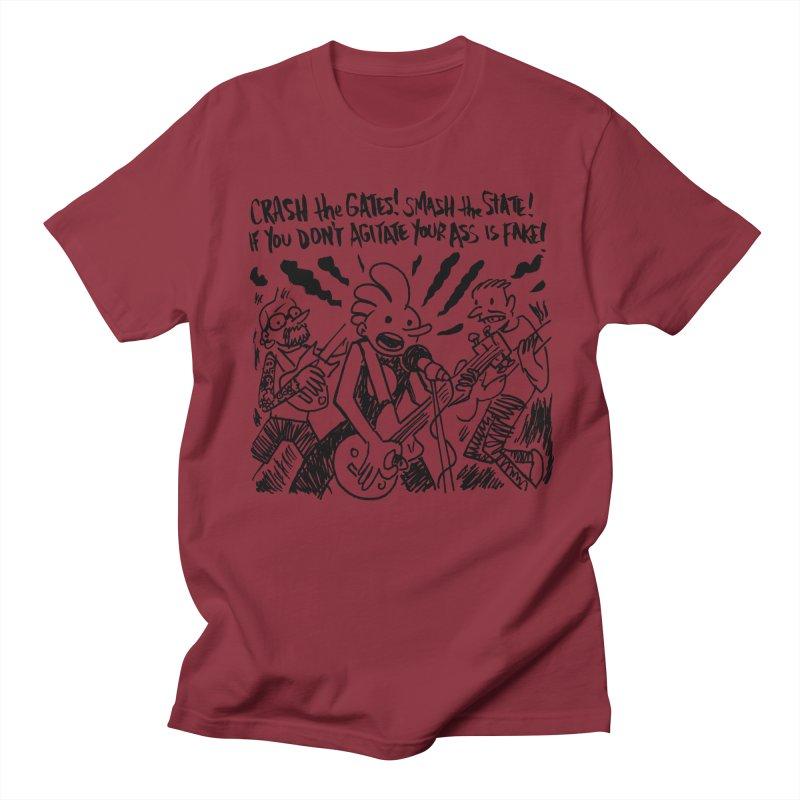 CRASH THE GATES Women's Regular Unisex T-Shirt by Wander Lane Threadless Shop