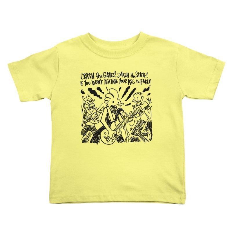 CRASH THE GATES Kids Toddler T-Shirt by Wander Lane Threadless Shop