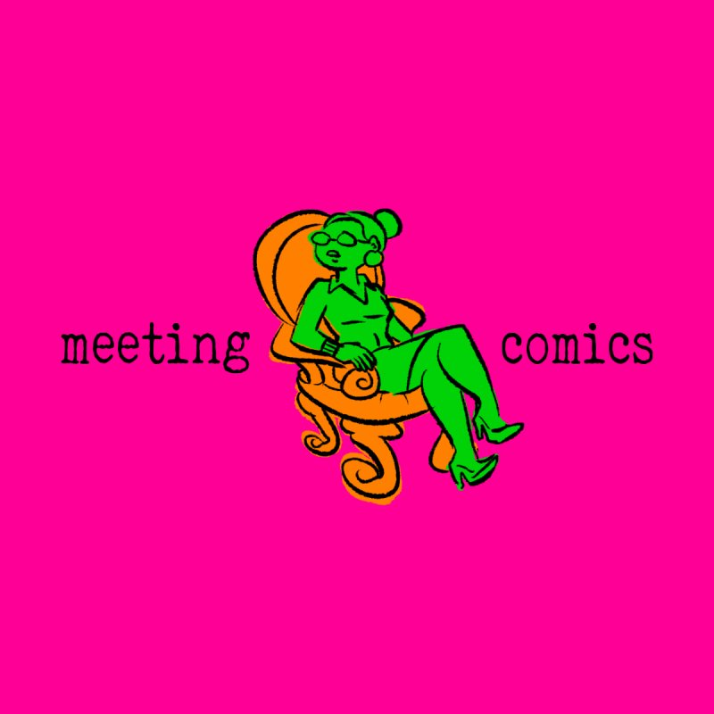 Meeting Comics: Val in the Chair Men's Sweatshirt by Wander Lane Threadless Shop