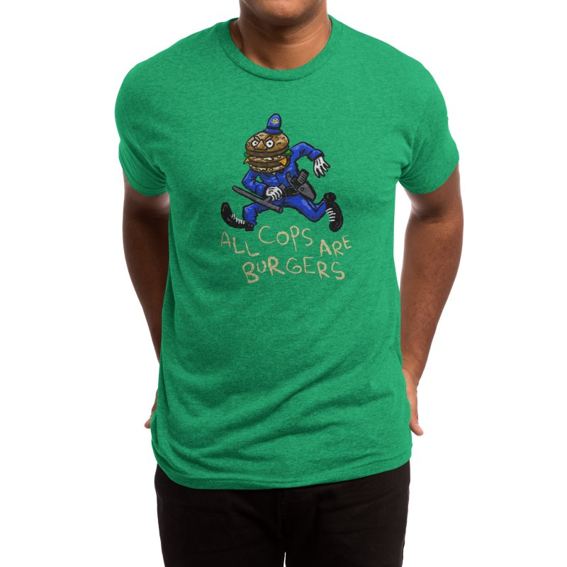All Cops Are Burgers Men's T-Shirt by Wander Lane Threadless Shop