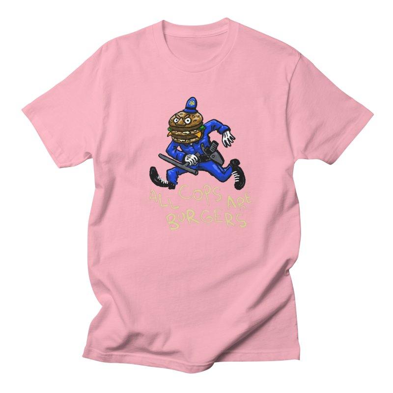 All Cops Are Burgers Men's Regular T-Shirt by Wander Lane Threadless Shop