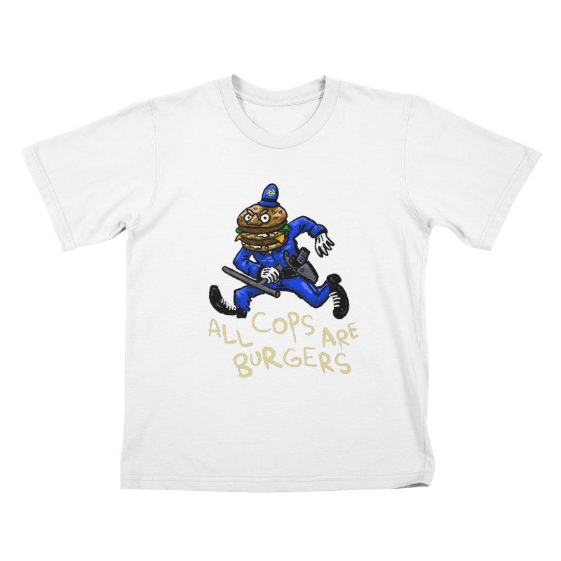 All Cops Are Burgers Kids T-Shirt by Wander Lane Threadless Shop