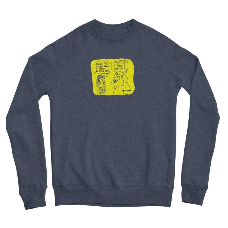 Crisis on Infinite Earths Women's Sponge Fleece Sweatshirt by Wander Lane Threadless Shop