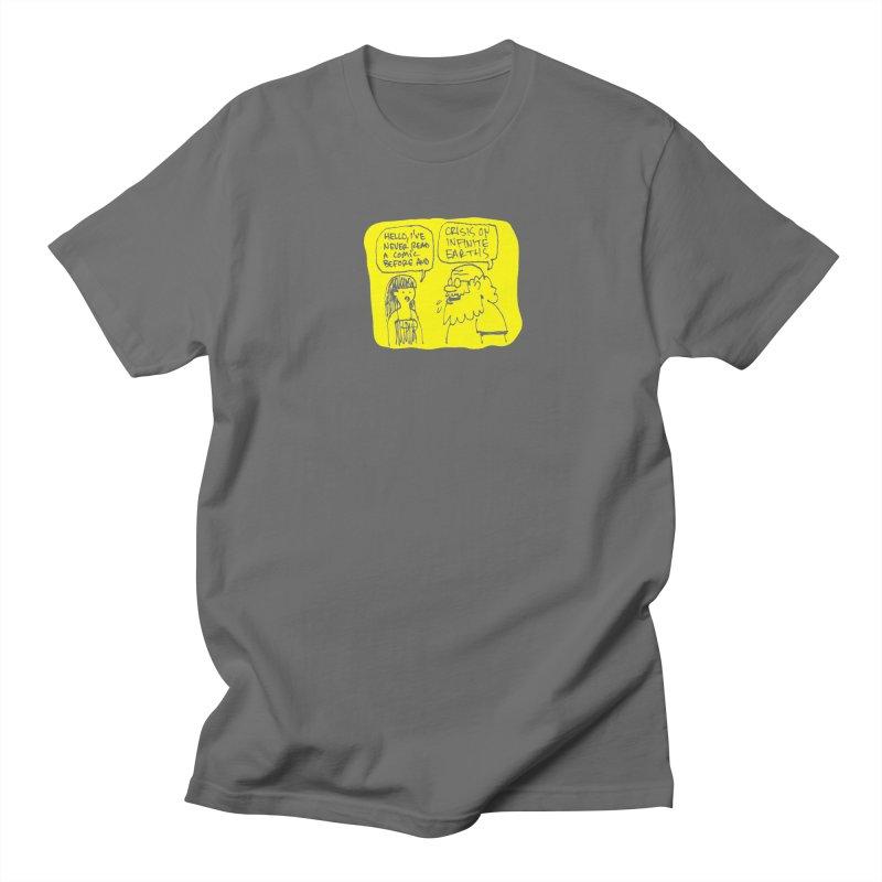 Crisis on Infinite Earths Men's T-Shirt by Wander Lane Threadless Shop