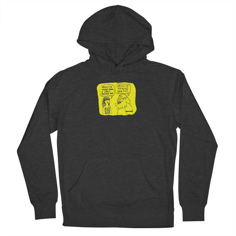 Crisis on Infinite Earths Women's French Terry Pullover Hoody by Wander Lane Threadless Shop