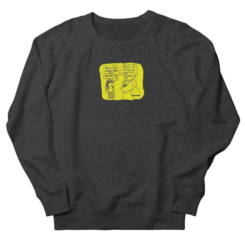 Crisis on Infinite Earths Women's French Terry Sweatshirt by Wander Lane Threadless Shop