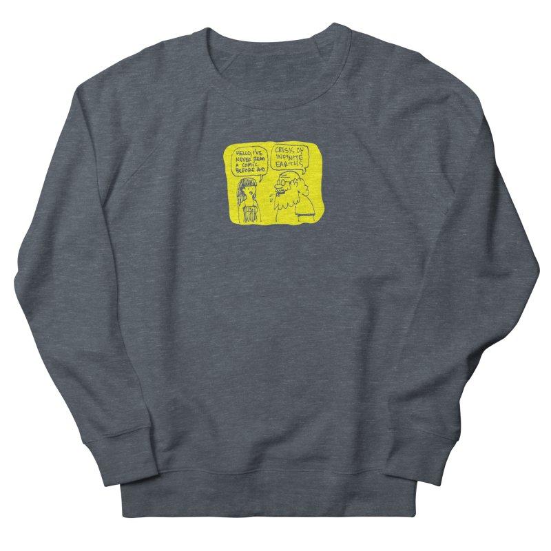 Crisis on Infinite Earths Men's French Terry Sweatshirt by Wander Lane Threadless Shop