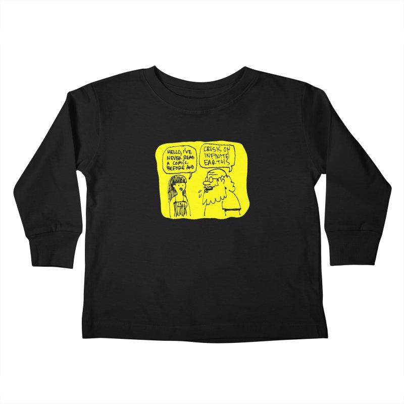 Crisis on Infinite Earths Kids Toddler Longsleeve T-Shirt by Wander Lane Threadless Shop