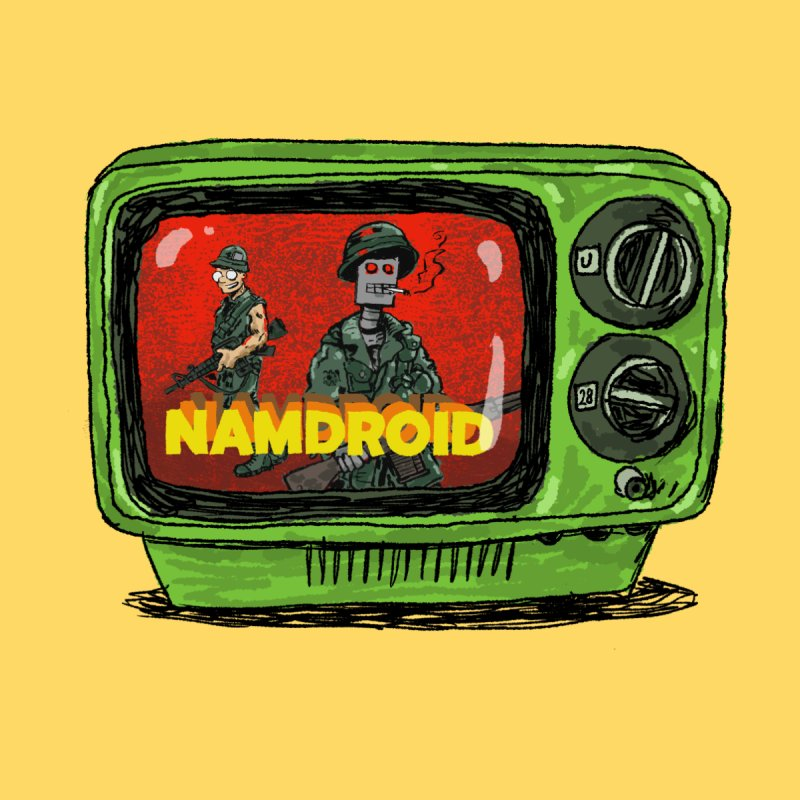 Meeting Comics: NAMDROID Men's Sweatshirt by Wander Lane Threadless Shop