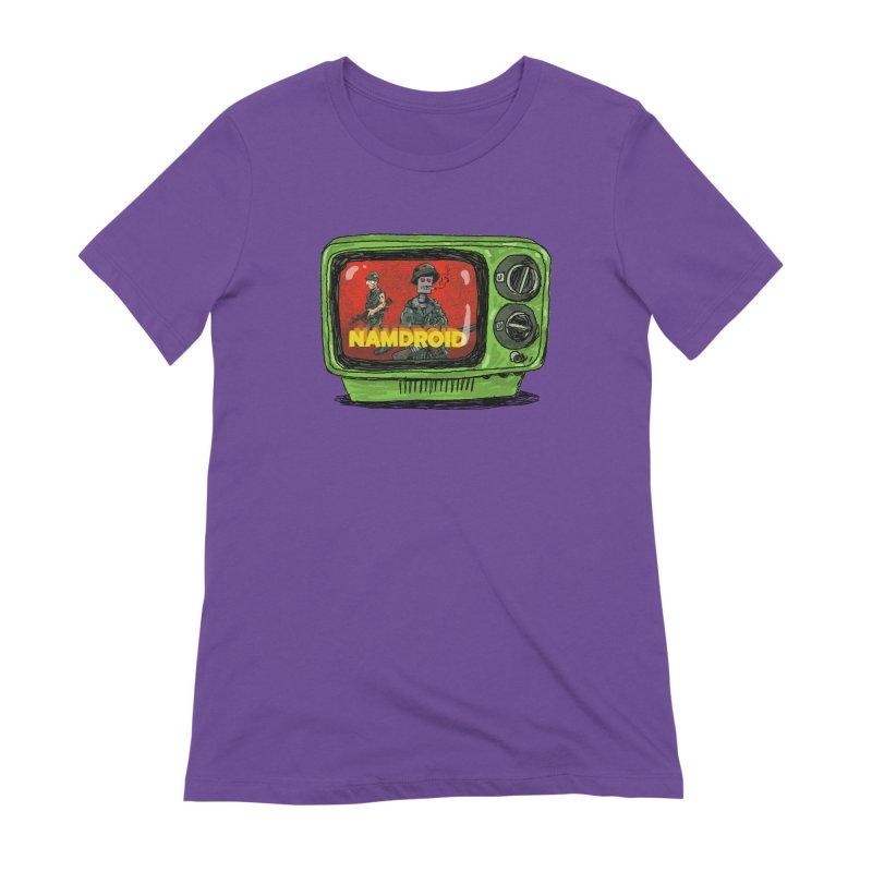 Meeting Comics: NAMDROID Women's Extra Soft T-Shirt by Wander Lane Threadless Shop