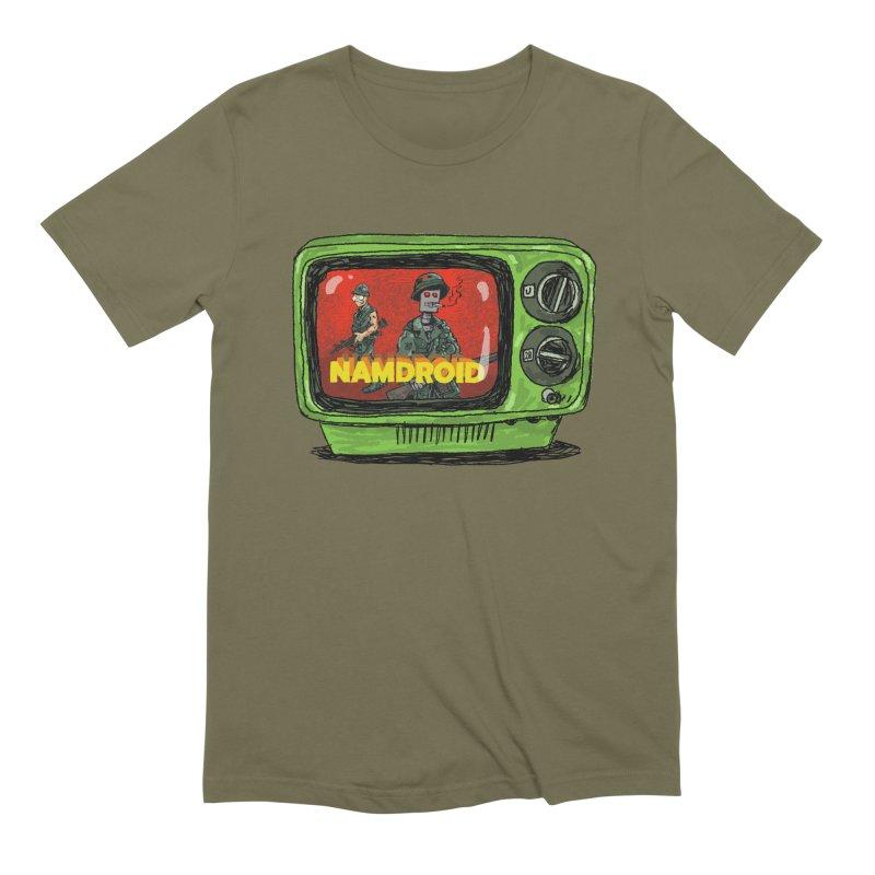 Meeting Comics: NAMDROID Men's Extra Soft T-Shirt by Wander Lane Threadless Shop