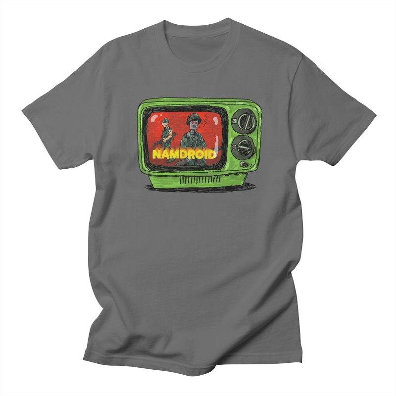 Meeting Comics: NAMDROID Men's T-Shirt by Wander Lane Threadless Shop