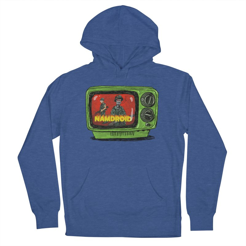 Meeting Comics: NAMDROID Men's French Terry Pullover Hoody by Wander Lane Threadless Shop