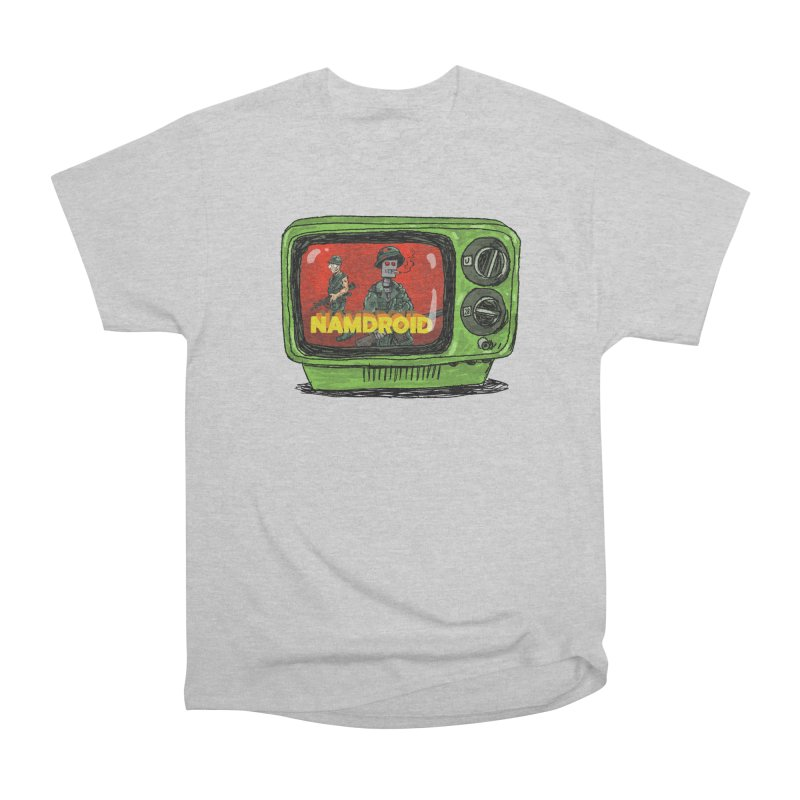 Meeting Comics: NAMDROID Men's Heavyweight T-Shirt by Wander Lane Threadless Shop