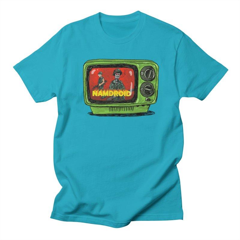 Meeting Comics: NAMDROID Women's Regular Unisex T-Shirt by Wander Lane Threadless Shop