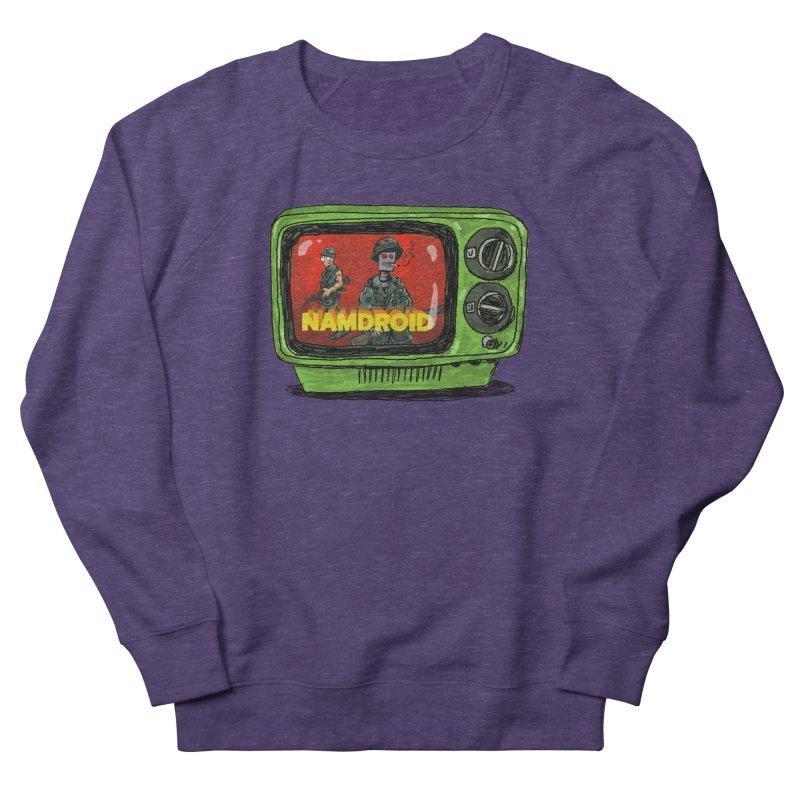 Meeting Comics: NAMDROID Men's French Terry Sweatshirt by Wander Lane Threadless Shop