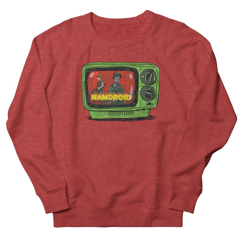 Meeting Comics: NAMDROID Men's French Terry Sweatshirt by Wander Lane Threadless Shop