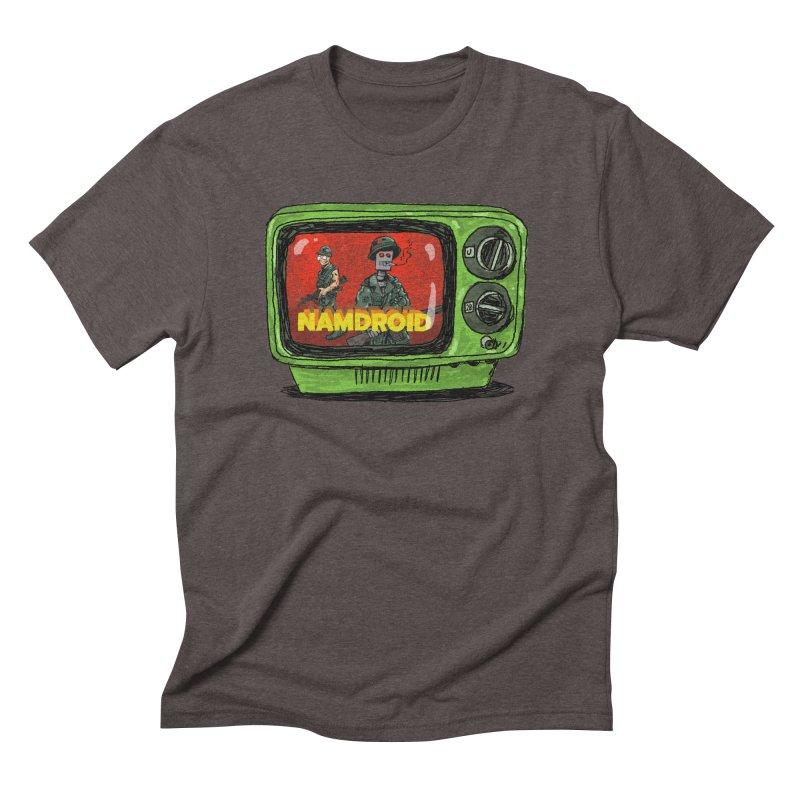 Meeting Comics: NAMDROID Men's Triblend T-Shirt by Wander Lane Threadless Shop
