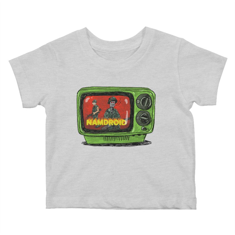 Meeting Comics: NAMDROID Kids Baby T-Shirt by Wander Lane Threadless Shop