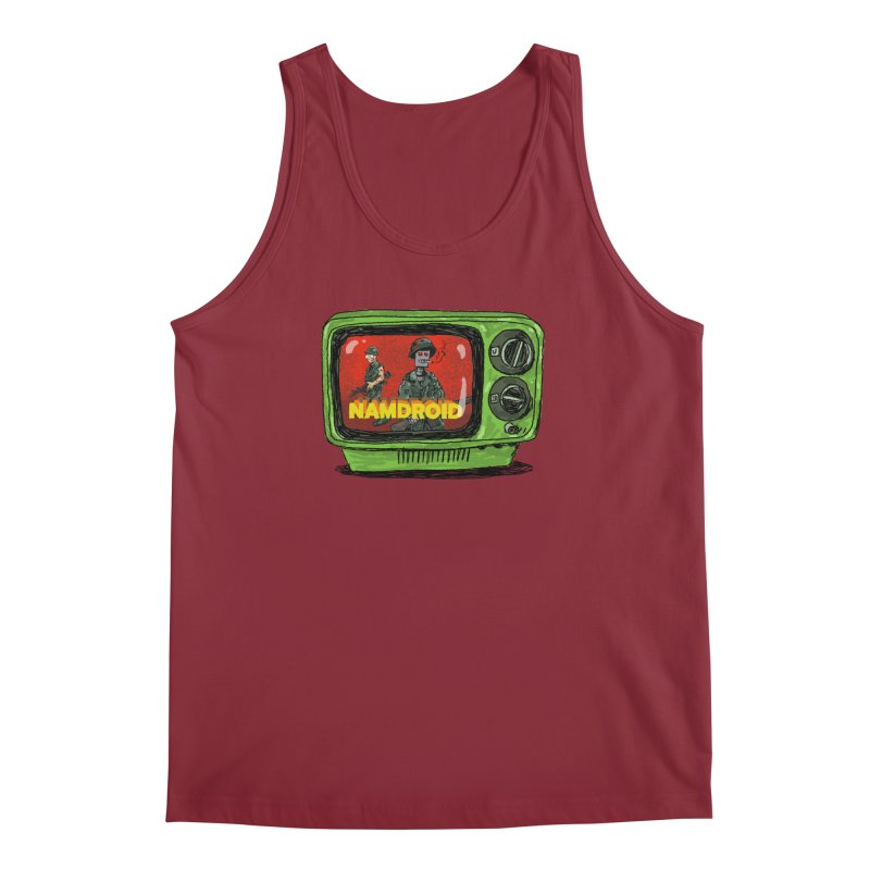 Meeting Comics: NAMDROID Men's Regular Tank by Wander Lane Threadless Shop