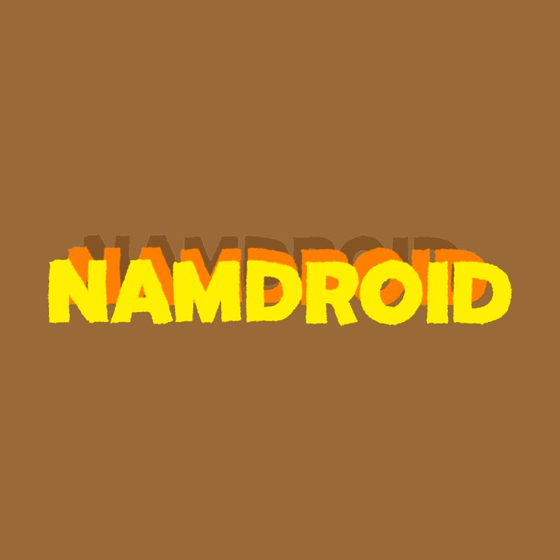 Meeting Comics: NAMDROID LOGO Men's T-Shirt by Wander Lane Threadless Shop