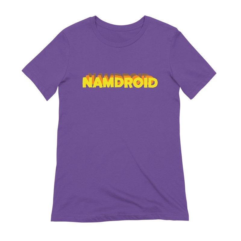 Meeting Comics: NAMDROID LOGO Women's Extra Soft T-Shirt by Wander Lane Threadless Shop