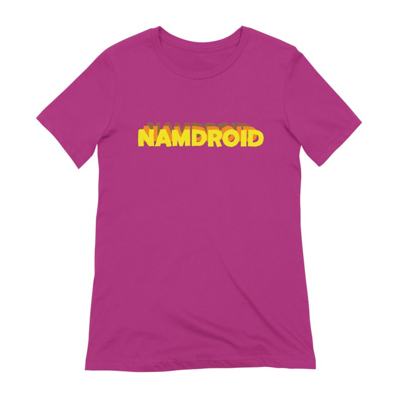 Meeting Comics: NAMDROID LOGO Women's Extra Soft T-Shirt by Wander Lane Threadless Shop