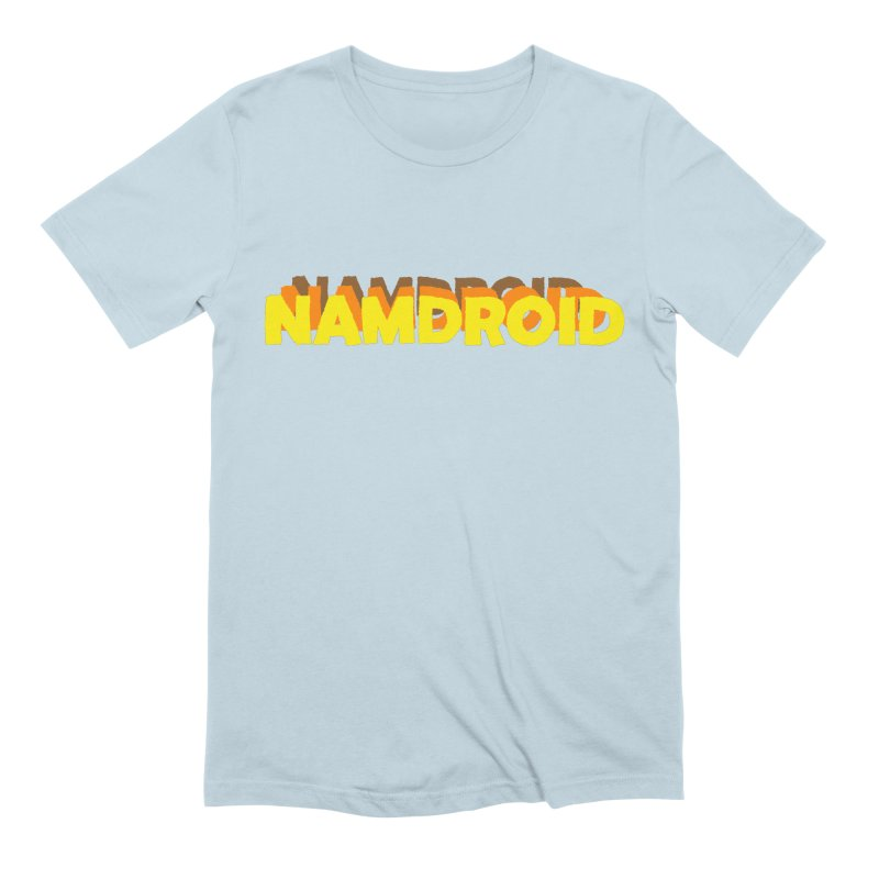 Meeting Comics: NAMDROID LOGO Men's Extra Soft T-Shirt by Wander Lane Threadless Shop