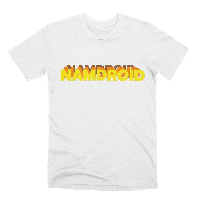 Meeting Comics: NAMDROID LOGO Men's Premium T-Shirt by Wander Lane Threadless Shop