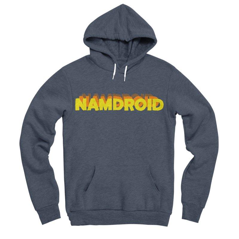 Meeting Comics: NAMDROID LOGO Women's Sponge Fleece Pullover Hoody by Wander Lane Threadless Shop