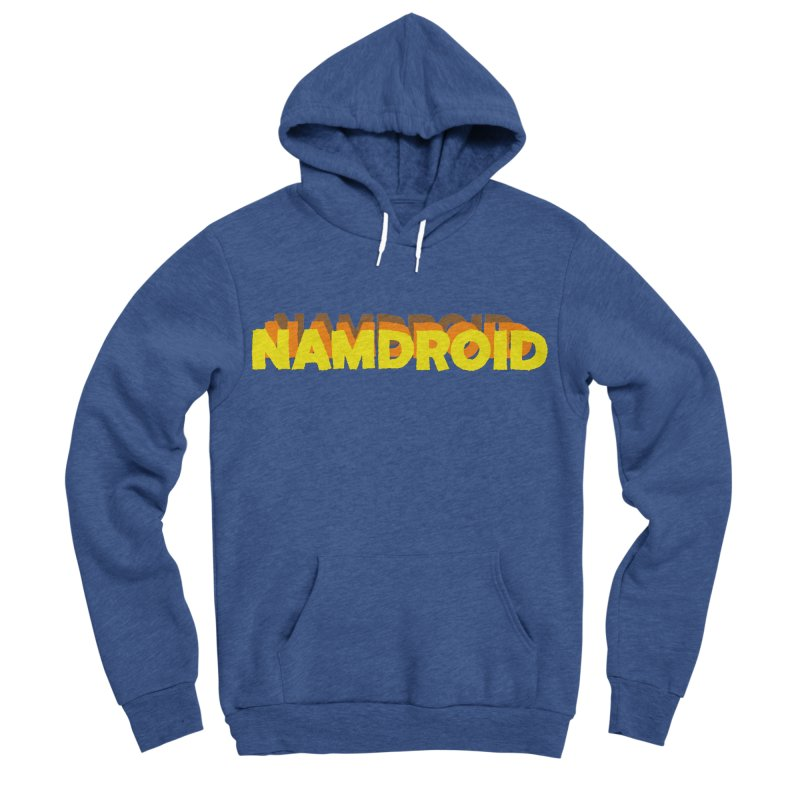 Meeting Comics: NAMDROID LOGO Men's Sponge Fleece Pullover Hoody by Wander Lane Threadless Shop