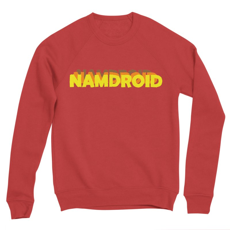 Meeting Comics: NAMDROID LOGO Men's Sponge Fleece Sweatshirt by Wander Lane Threadless Shop