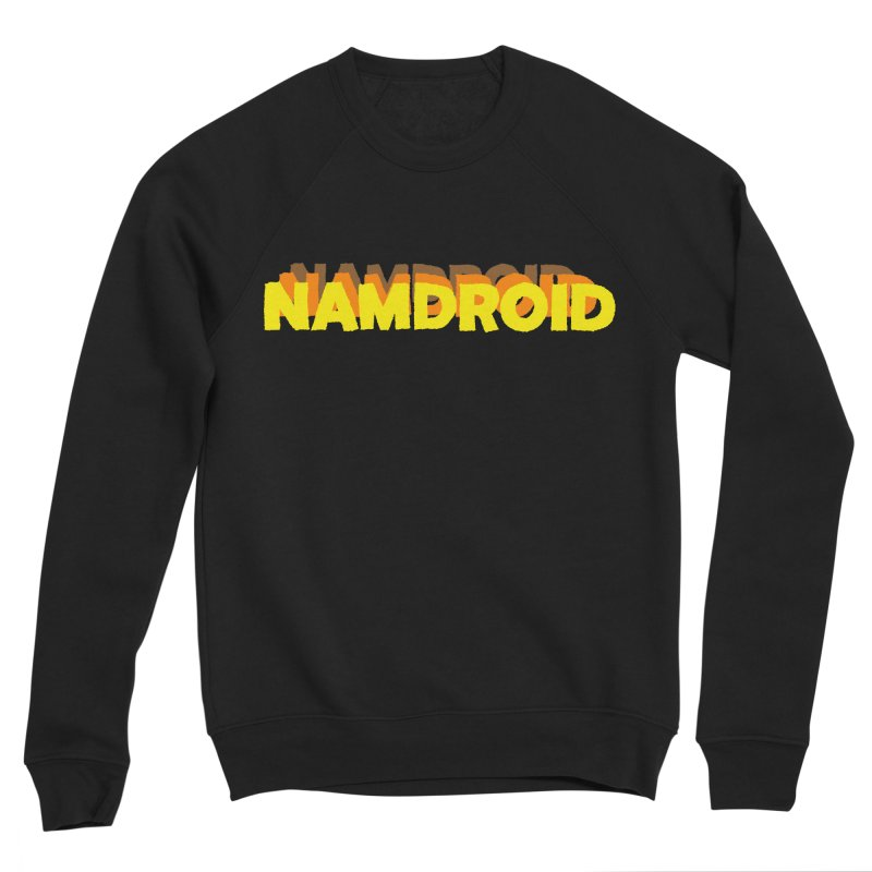 Meeting Comics: NAMDROID LOGO Women's Sponge Fleece Sweatshirt by Wander Lane Threadless Shop