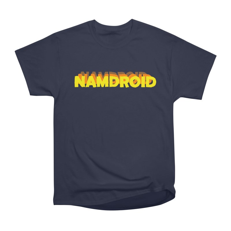 Meeting Comics: NAMDROID LOGO Women's Heavyweight Unisex T-Shirt by Wander Lane Threadless Shop