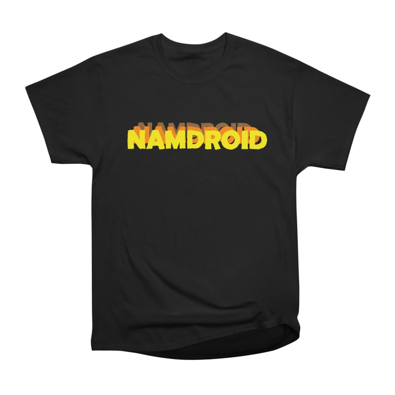Meeting Comics: NAMDROID LOGO Men's Heavyweight T-Shirt by Wander Lane Threadless Shop