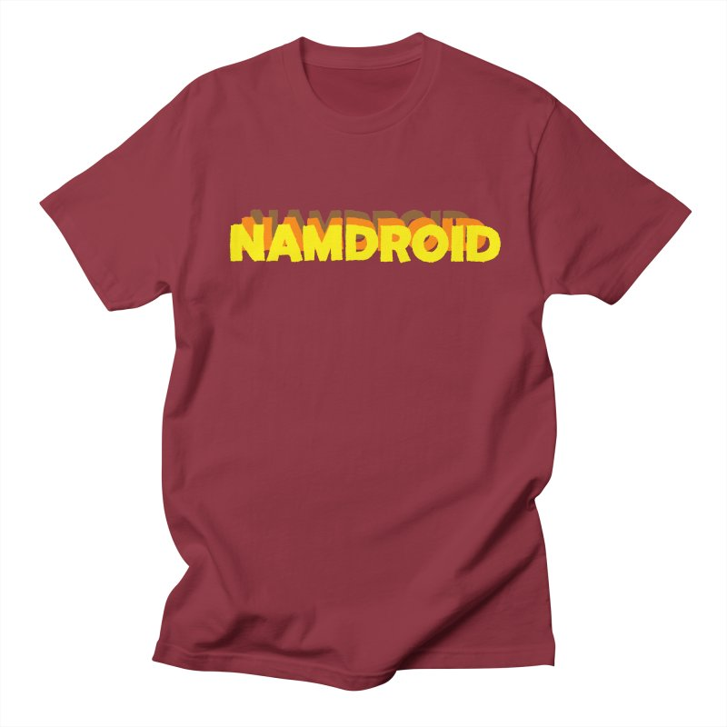 Meeting Comics: NAMDROID LOGO Men's Regular T-Shirt by Wander Lane Threadless Shop