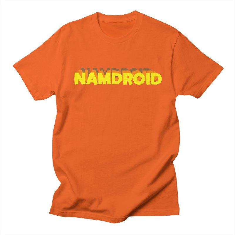 Meeting Comics: NAMDROID LOGO Women's Regular Unisex T-Shirt by Wander Lane Threadless Shop