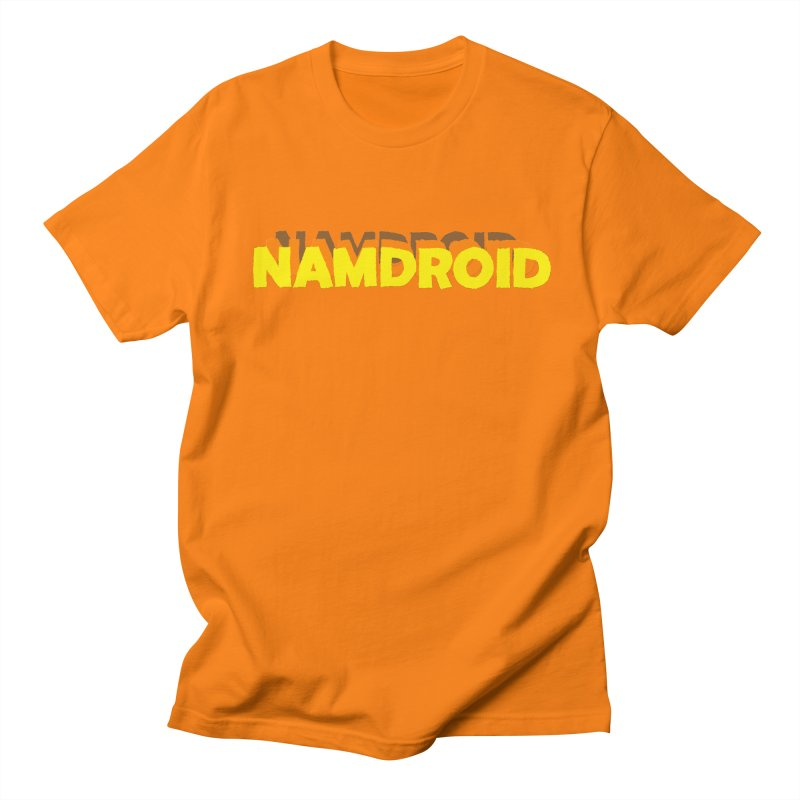 Meeting Comics: NAMDROID LOGO Women's Regular Unisex T-Shirt by Wander Lane Threadless Shop