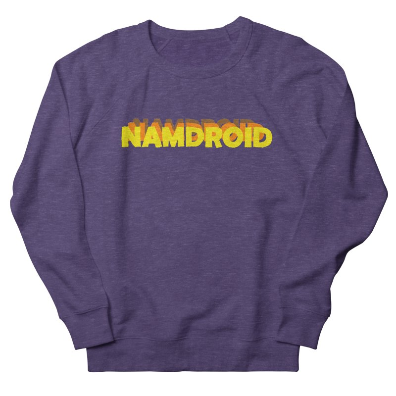 Meeting Comics: NAMDROID LOGO Men's French Terry Sweatshirt by Wander Lane Threadless Shop